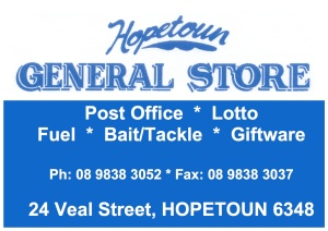 hopetoun general store ad