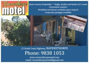 ravy motel ad signboard